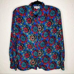 Vintage Colorful Blouse